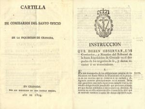 100 Spanish leaflets on the Inquisition - Instructions, edicts, decrees, lists of autos de fe & other documents - April 2017