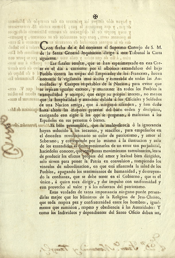 Carta de la Inquisición
