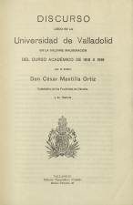 Mantilla Ortiz, César - Valladolid, 1918