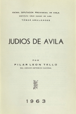 León Tello, Pilar - Ávila, 1963