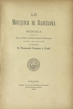 Carreras y Candi, Francesch - Barcelona, 1903