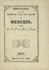 Mas y Casas, J. M. de - Manresa, 1837