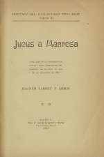 Sarret y Arbós, Joaquim - Manresa, 1917